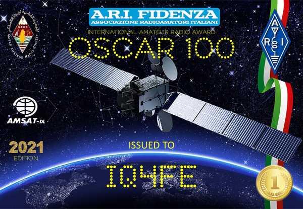 Oscar 100 Award