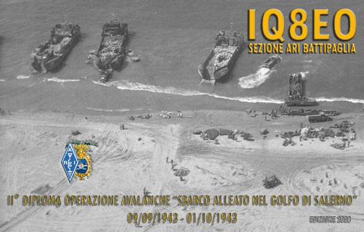 III Diploma OPERAZIONE AVALANCHE Sbarco Alleato a Salerno 200973173727_IQ8EO_AVL_08_1